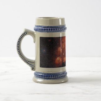 Cat's Paw Nebula NGC 6334 Bear Claw Gum 64 Beer Stein