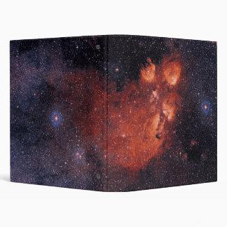 Cat's Paw Nebula NGC 6334 Bear Claw Gum 64 3 Ring Binders
