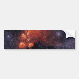 Cat's Paw Nebula NGC 6334 Bear Claw Gum 64 Bumper Sticker