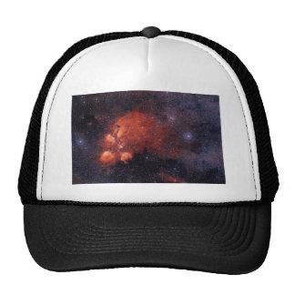 Cat's Paw Nebula NGC 6334 Bear Claw Gum 64 Mesh Hats