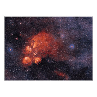 Cat's Paw Nebula NGC 6334 Bear Claw Gum 64 Photo Print
