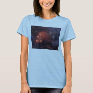 Cat's Paw Nebula NGC 6334 Bear Claw Gum 64 T-Shirt