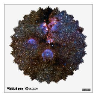 Cats Paw Nebula NGC 6334, Scorpius Wall Sticker