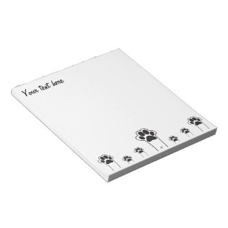 Cats paw notepad
