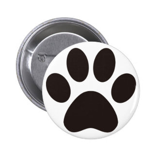 CAT'S_PAW PINBACK BUTTON
