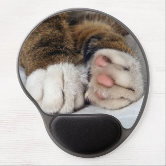 Cat's paws gel mouse pad