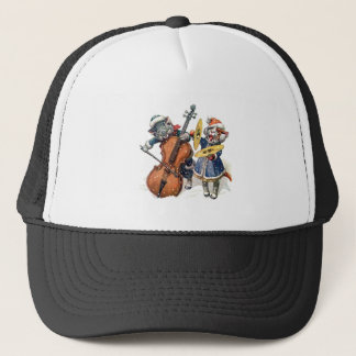 Cats Play the Cello and Cymbals in the Snow Trucker Hat