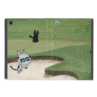 Cats Playing Golf Covers For iPad Mini