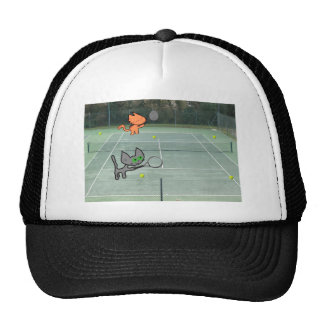 Cats Playing Tennis Hat