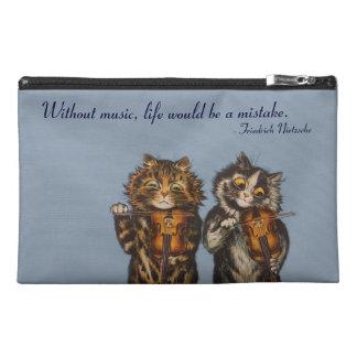 Cats Playing Violin by Louis Wain; Cute Cat Bag