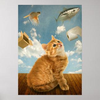 Cats Pleasures Poster