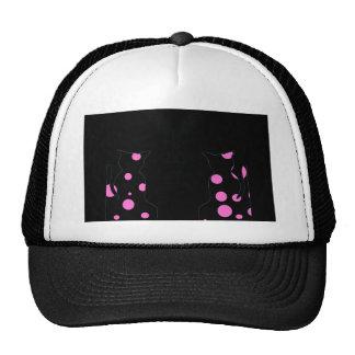Cats Polka Dot Cats Ball Cap Hat CricketDiane