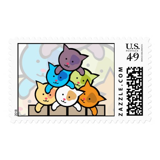 Cats Postage