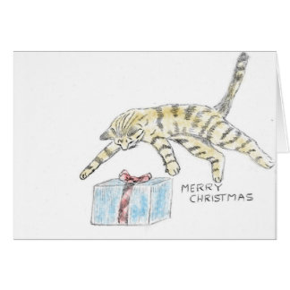 Cats Present Greeting Cards