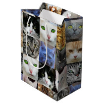 Cats Print Paper Gift Bags