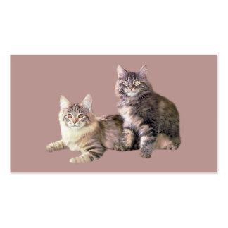 Cats PURRsonality Business Card