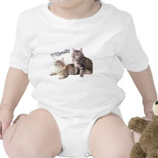 CATS Purrsonality Infant Creeper