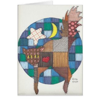 Cats - Quilted Greeting Cards
