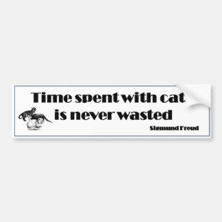 Cat's Quote Bumper Sticker