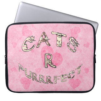 CATS R PURRRFECT COMPUTER SLEEVE