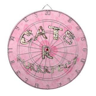 CATS R PURRRFECT DART BOARDS
