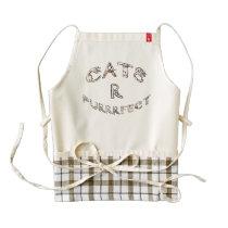 CATS R PURRRFECT ZAZZLE HEART APRON
