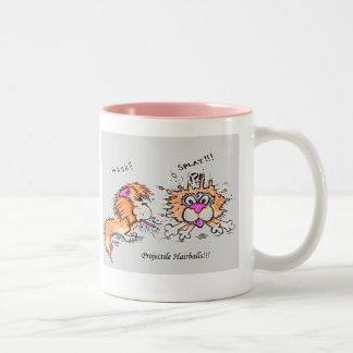 Cat's revenge is not sweet! Two-Tone coffee mug