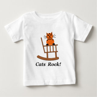 Cats Rock Baby T-Shirt