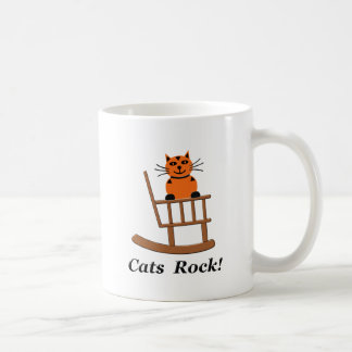 Cats Rock Coffee Mug