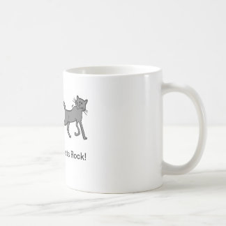 Cats Rock! Coffee Mug