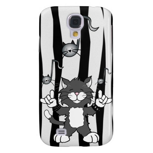 'Cats Rock!' iPhone 3 Speck Case Samsung Galaxy S4 Covers