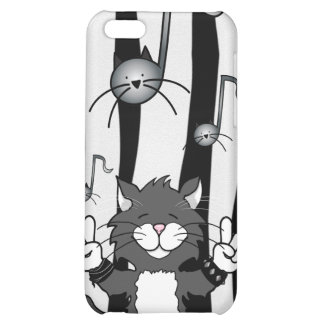 'Cats Rock!' iPhone 4 Case