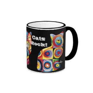 Cats Rock! - mug
