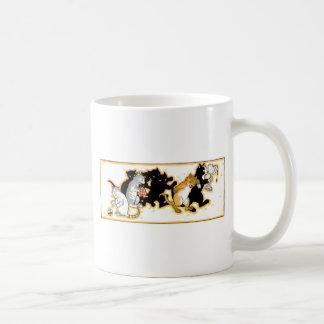 Cats Romping Artwork Coffee Mug