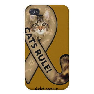 Cats Rule Apple iPhone 4 case cover by Speck