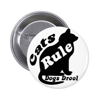 Cats Rule Button