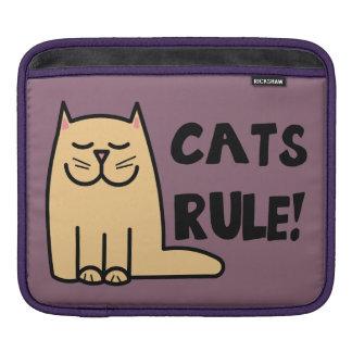 Cats Rule iPad Sleeve