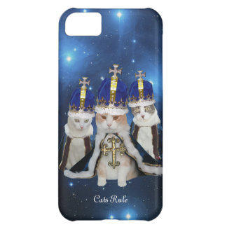 Cats Rule iPhone 5C Cases