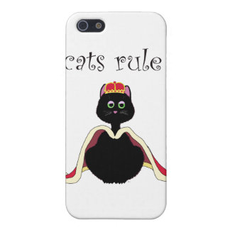 Cats Rule Cover For iPhone 5