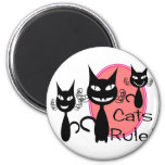Cats Rule!!!!!!!!! Magnets