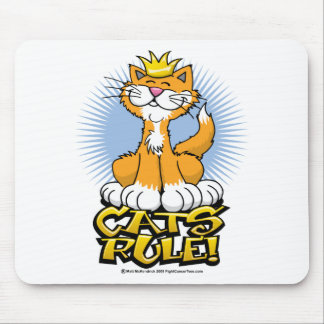 Cats Rule! Mouse Pad