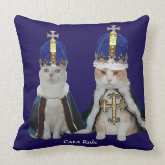 Cats Rule Pillow