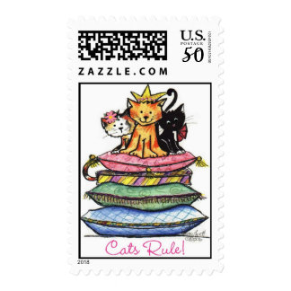 Cats Rule Postage