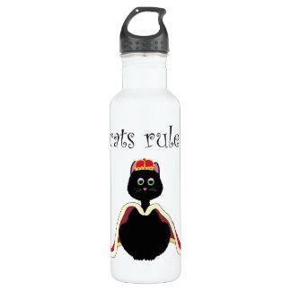 Cats Rule Water Bottle