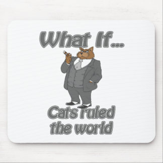 cats ruled mouse pad