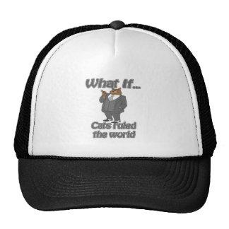 cats ruled trucker hat