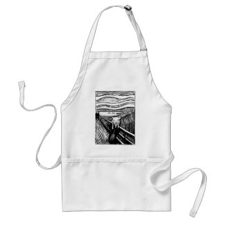 CAT'S SCREAM ADULT APRON