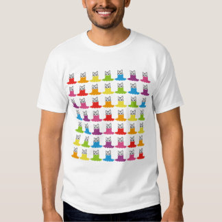 Cats Smiley Turtleneck Allstars Rainbow7 Shirt