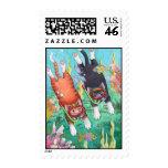 Cats Snorkeling Stamp (Bud & Tony)