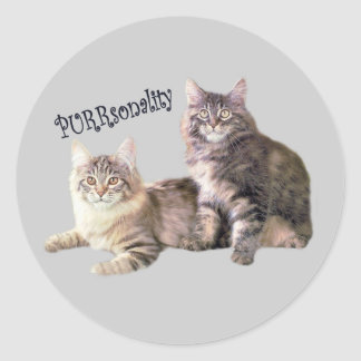 Cats Sticker PURRSONALITY